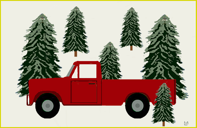 Truck in the Trees